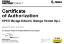 Zebra Business Partner – status partnerski Sped-ID